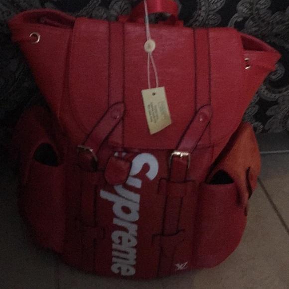 143eb1492d7 Supreme x Louis Vuitton backpack NWT